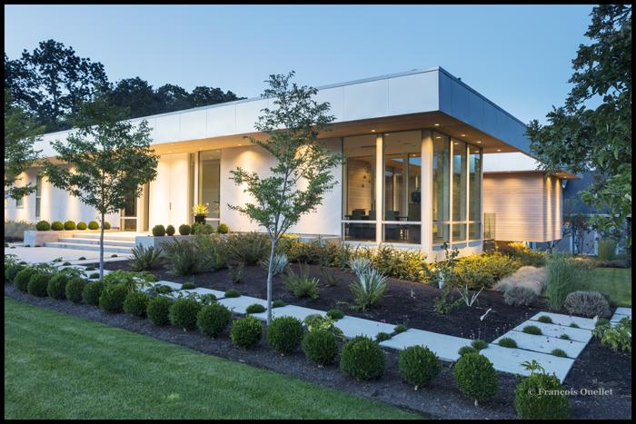 Une maison moderne de Victoria.