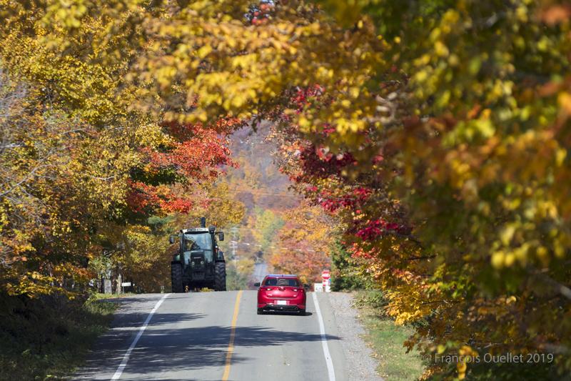 Val-Bélair en automne