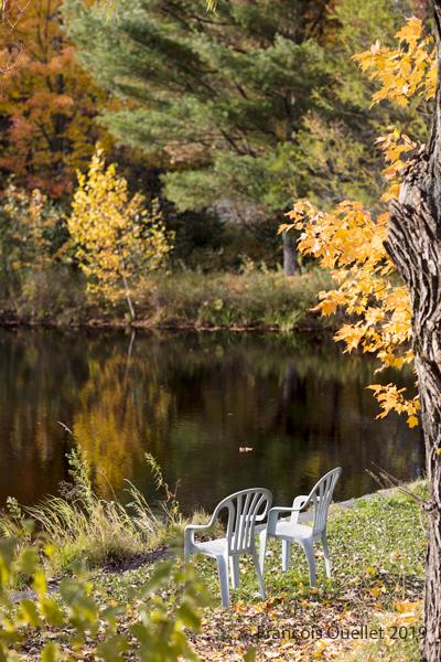 Paysage de St-Gilles à l'automne