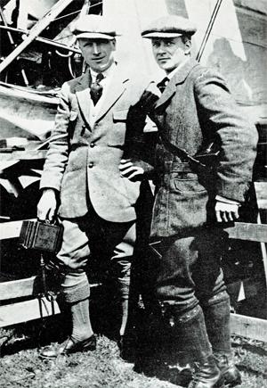 Sir John Alcock et Sir Arthur Whitten Brown