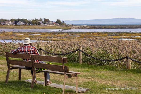 Temps de détente à L'Isle-aux-Coudres