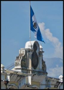 3811-Guatemala-flag-and-smoke-from-volcano-web