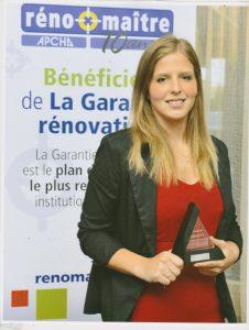 Jacinthe Lelièvre - Prix Réno-Maître Or