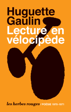 Huguette Gaulin — Lecture en vélocipède