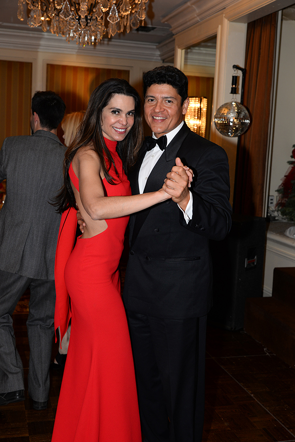 Elsa Chahin and Octavio Pescador