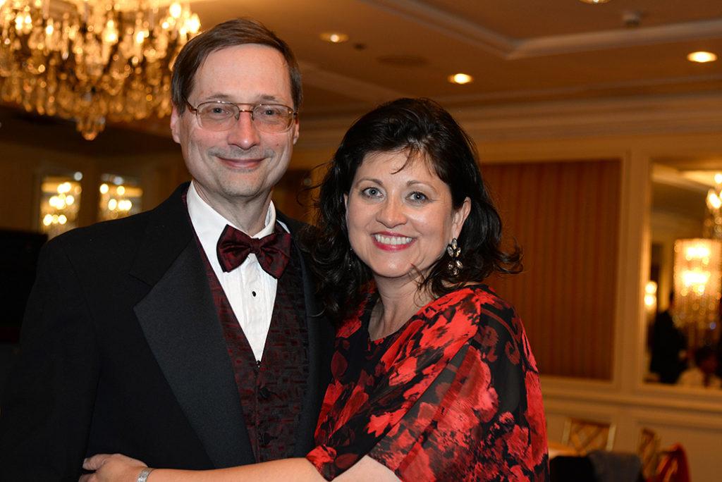 Dr. Eugene Krc and Sabrina Krc