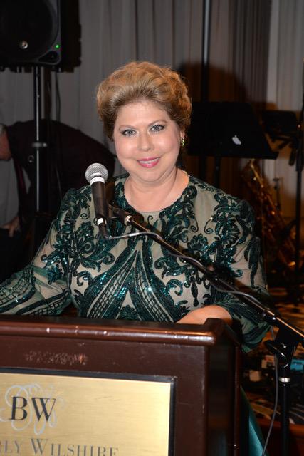 MC of the gala, Rosalie Von Wendt