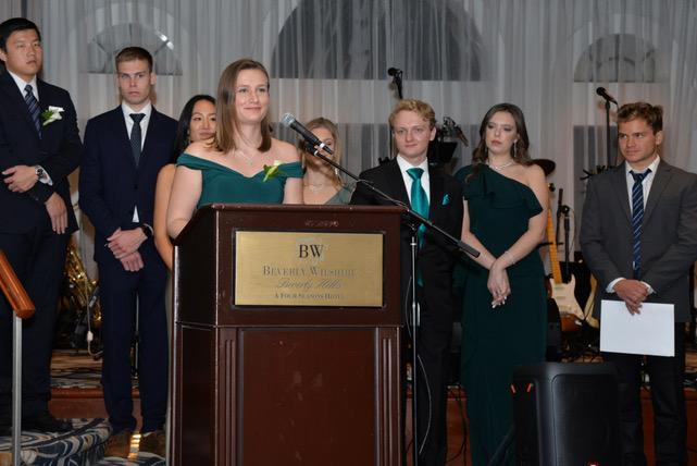 Scholarship Recipient Hajnalka Toth