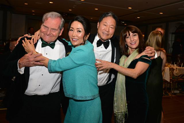 Dr. Andrew Friedman, Mrs. & Mr. Shin, Andrea Miller