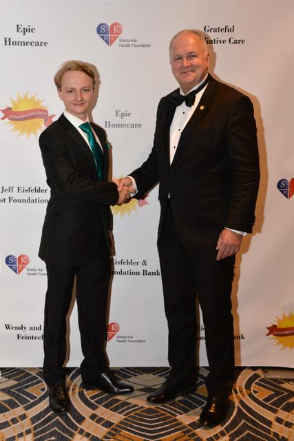 Adam Beres, President of AotF, and H.E. Dr. Laszio Szabo, Ambassador of Hungary to the USA