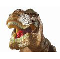 E2028 T rex Projector & Room Guard face white