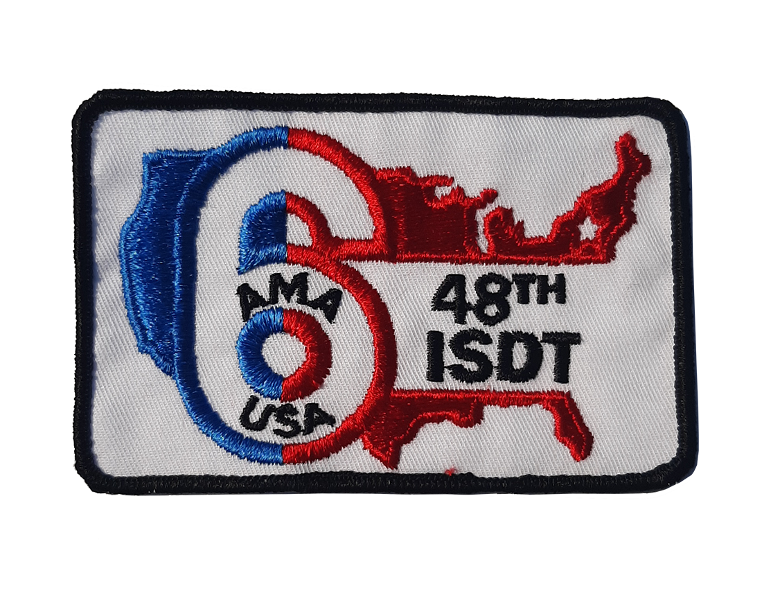 48TH ISDT Patch
