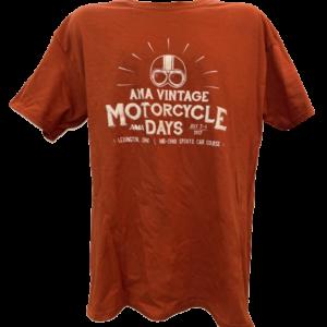 2017 AMA Vintage Motorcycle Days Tee