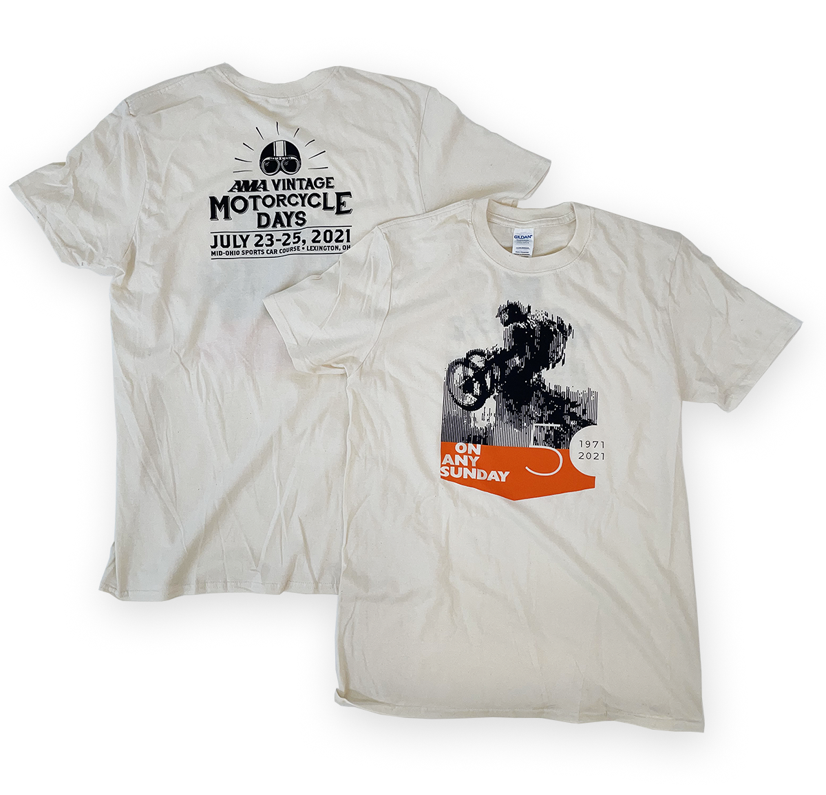 2021 AMA Vintage Motorcycle Days Tee