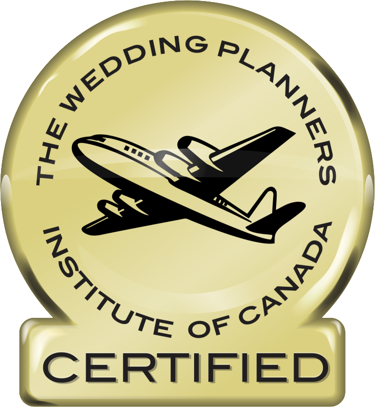 Destination Wedding Planners Institute of Canada Certified