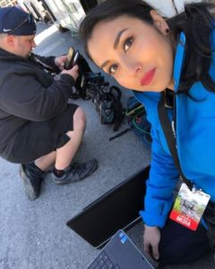 "Putting together our story during ""March For Our Lives"" in Washington D.C."