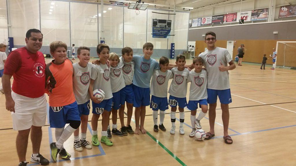 FFA futsal players