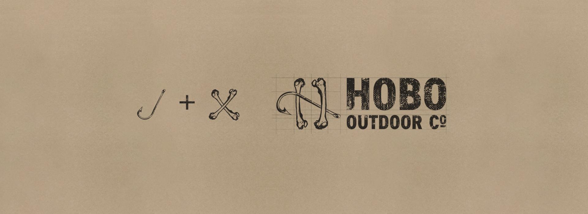 Hobo Outdoor Co.   Logo   Branding   The Underground Design Studio