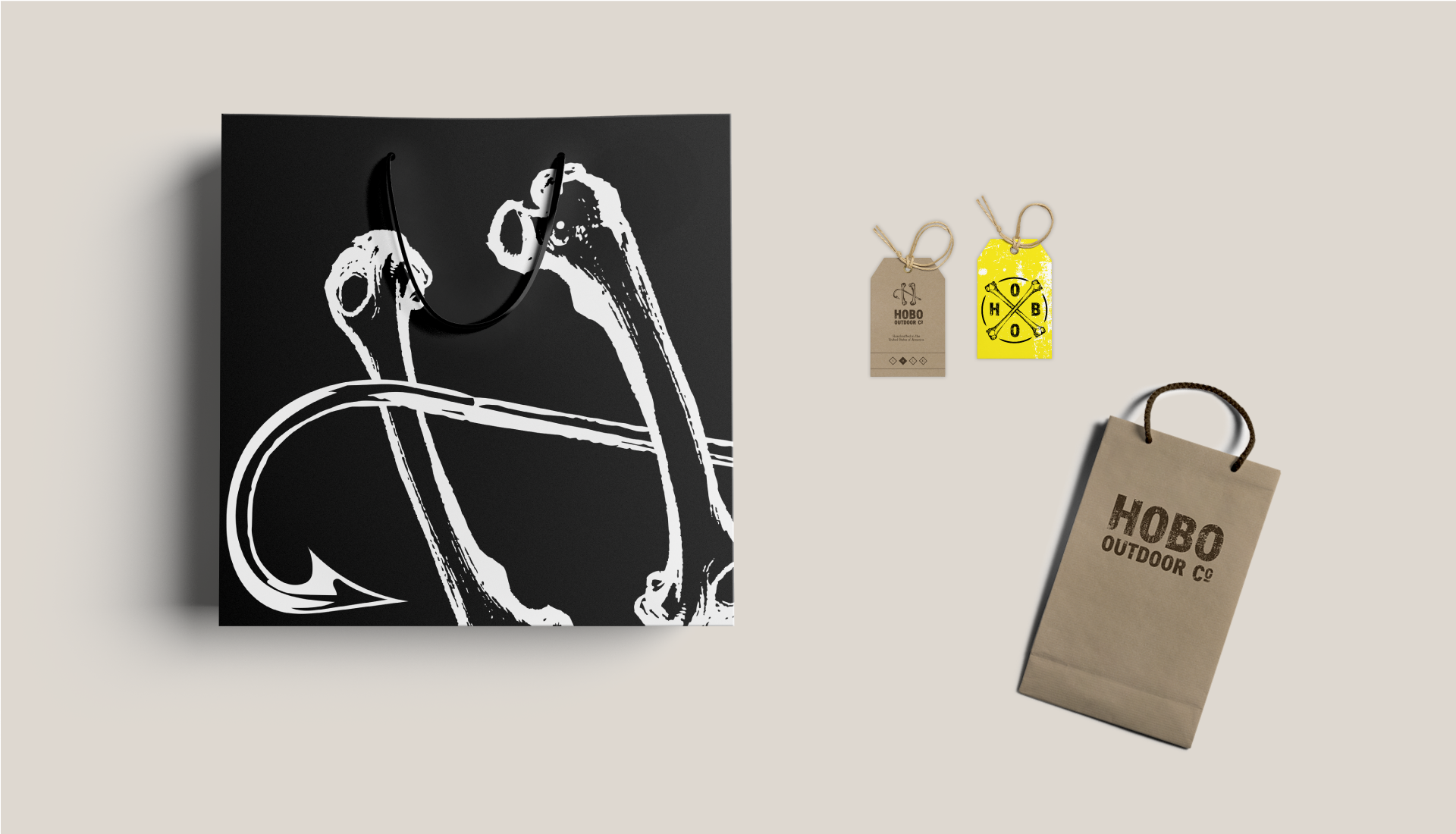 Hobo Outdoor Co.   Branding   The Underground Design Studio