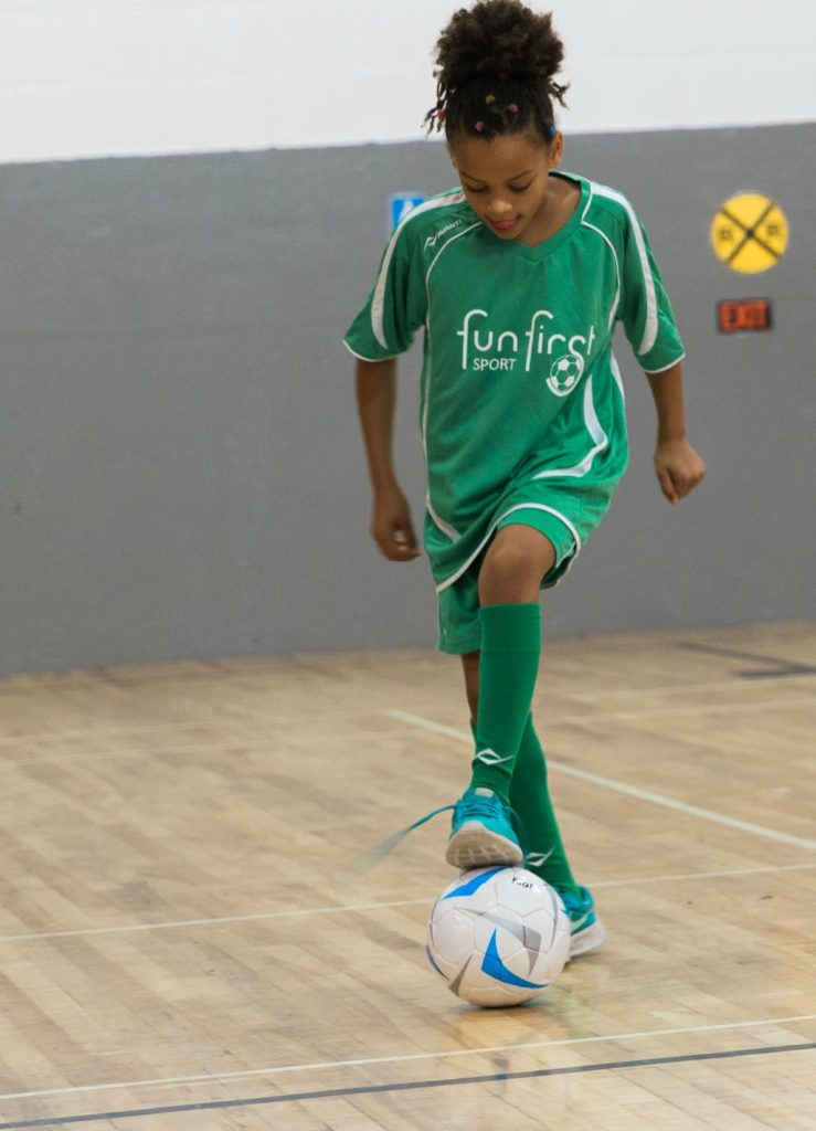 Soccer player Toronto 9yrs Noncompetitive Fun Soccer