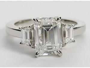 $30,872 Step Cut Trapezoid Setting...Like Kim's | Engagement Ring Voyeur