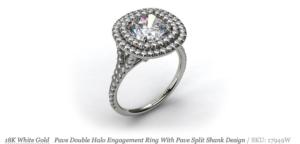 3 New Unique Halo Setting from James Allen | Engagement Ring Voyeur