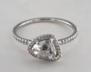 Diamond in the Rough - A Unique Engagement Ring | Engagement Ring Voyeur