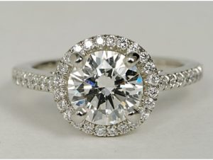 Try on Blue Nile Engagement Rings at Nordstrom, Seattle | Engagement Ring Voyeur