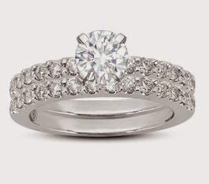 Dreamstone's Pav&eacute Engagement Set for Those Who Mind the Gap | Engagement Ring Voyeur
