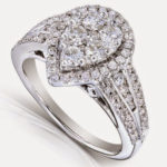 Looking for the Perfect Pear Cluster Ring?