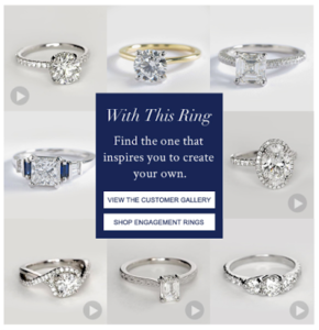 Shop Recently Purchased Rings from Blue Nile | Engagement Ring Voyeur