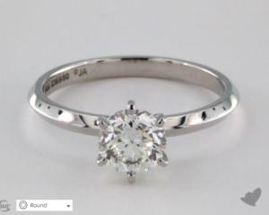 A Custom Engagement Ring Under $2000 | Engagement Ring Voyeur