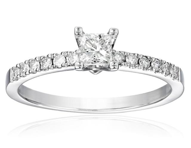 kobelli princess engagement ring
