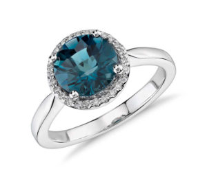 Blue Nile Giveaway - London Blue Topaz Earrings | Engagement Ring Voyeur