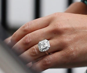Pippa Middleton's Vintage Asscher Engagement Ring | Engagement Ring Voyeur