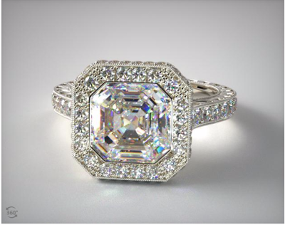 Pippa Middleton engagement ring look alike