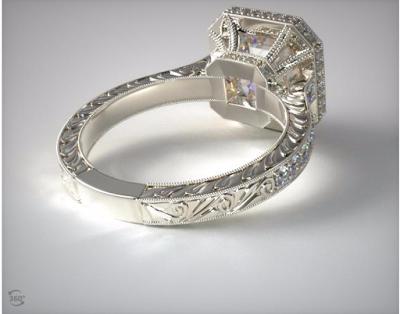 Pippa Middleton engagement ring look alike back