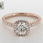 K Color Diamond Engagement Rings