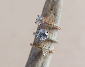 A Dainty and Versatile Setting from James Allen | Engagement Ring Voyeur