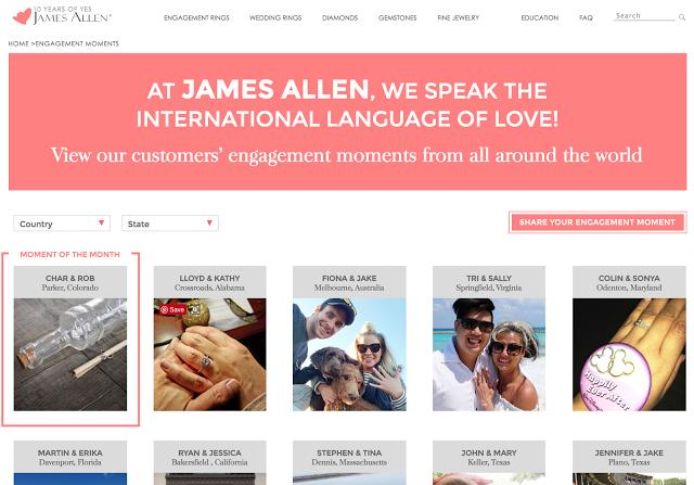 James Allen International Customers