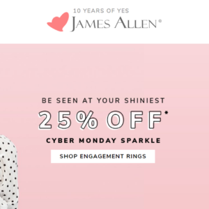 Cyber Monday Engagement Ring Deals | Engagement Ring Voyeur