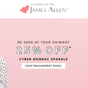 Cyber Monday Engagement Ring Deals | Engagement Ring Voyeur
