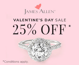 James Allen Valentines Sale