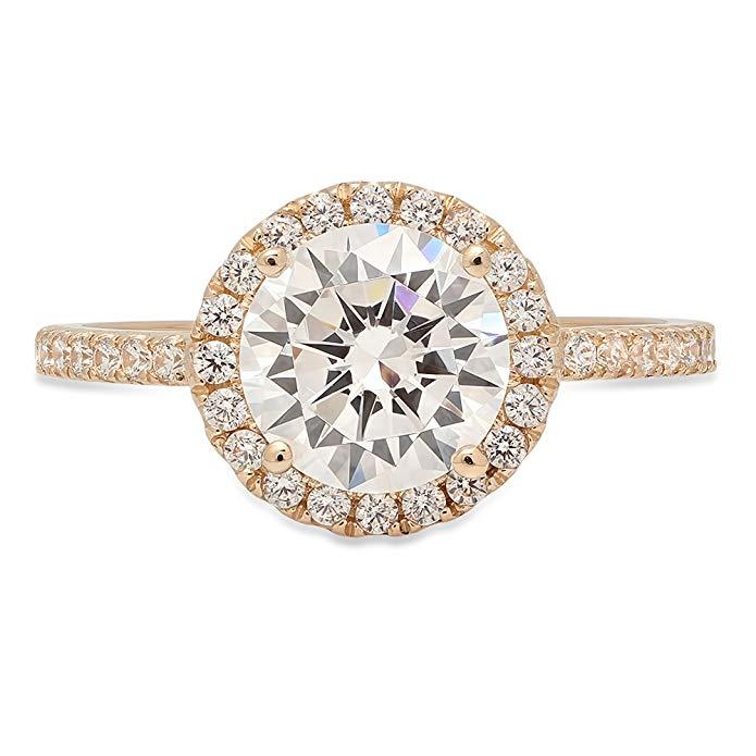 Clara Pucci Engagement Ring