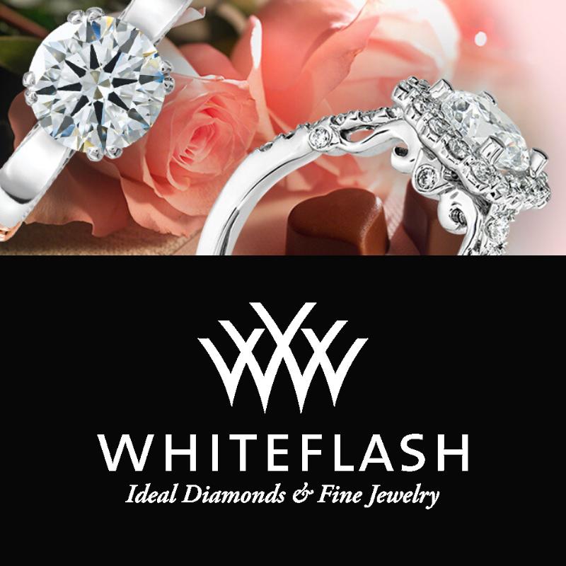 Whiteflash Engagement Rings