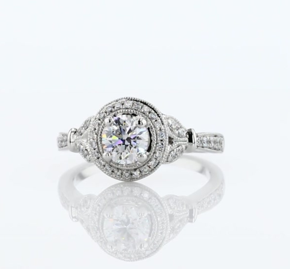 designer engagement ring under $5000