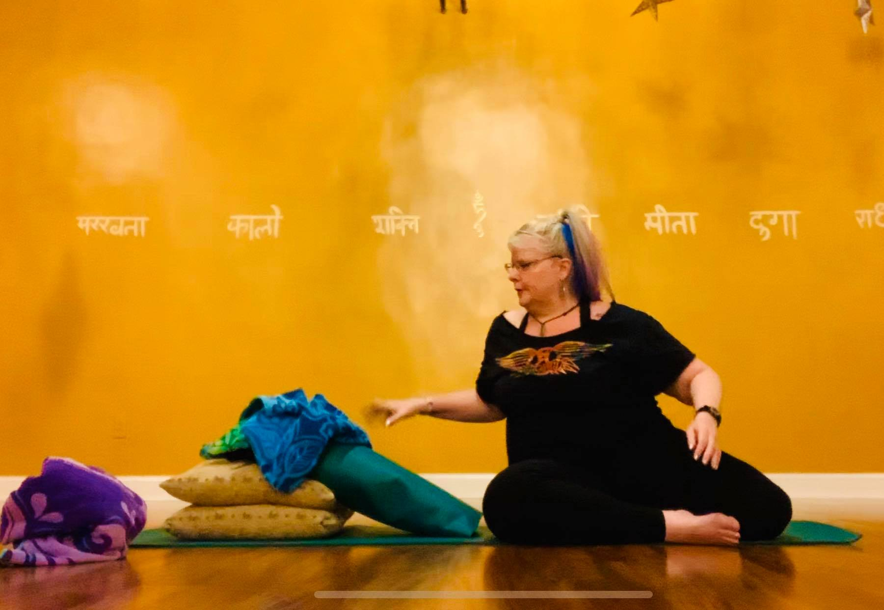 Restorative Yoga with Household Props (34:30)