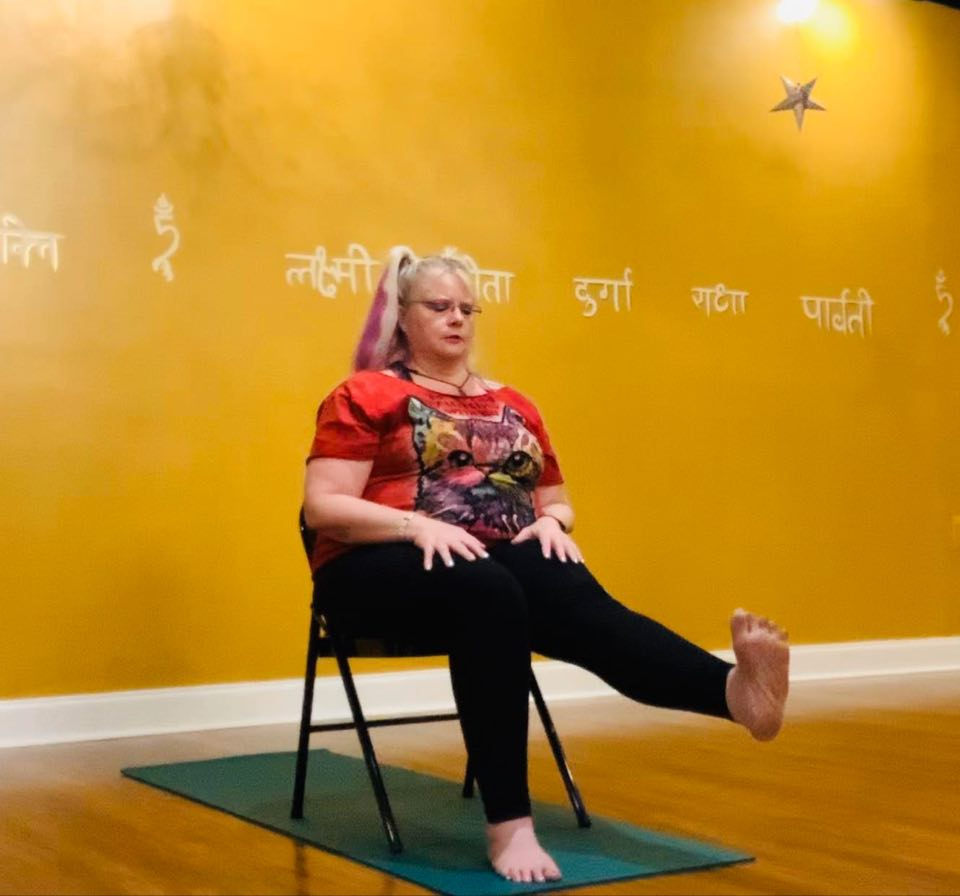 Chair Yoga:  Focus on Hands, Feet and IT Band (59:49)