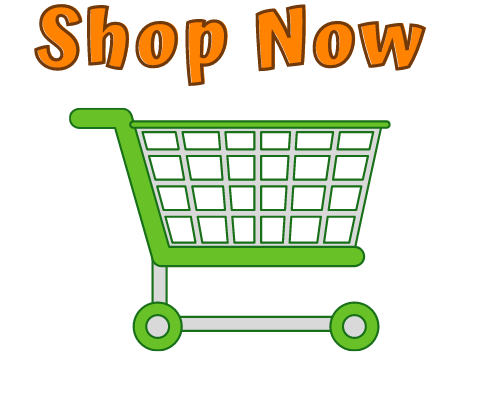 Shop Now with an image of a green shopping cart