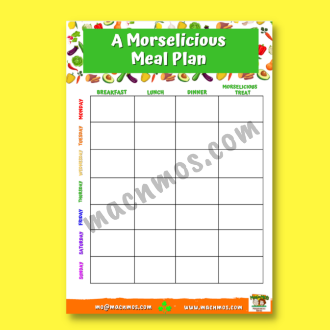 Watermarked image of A Morselicious Meal Plan download.